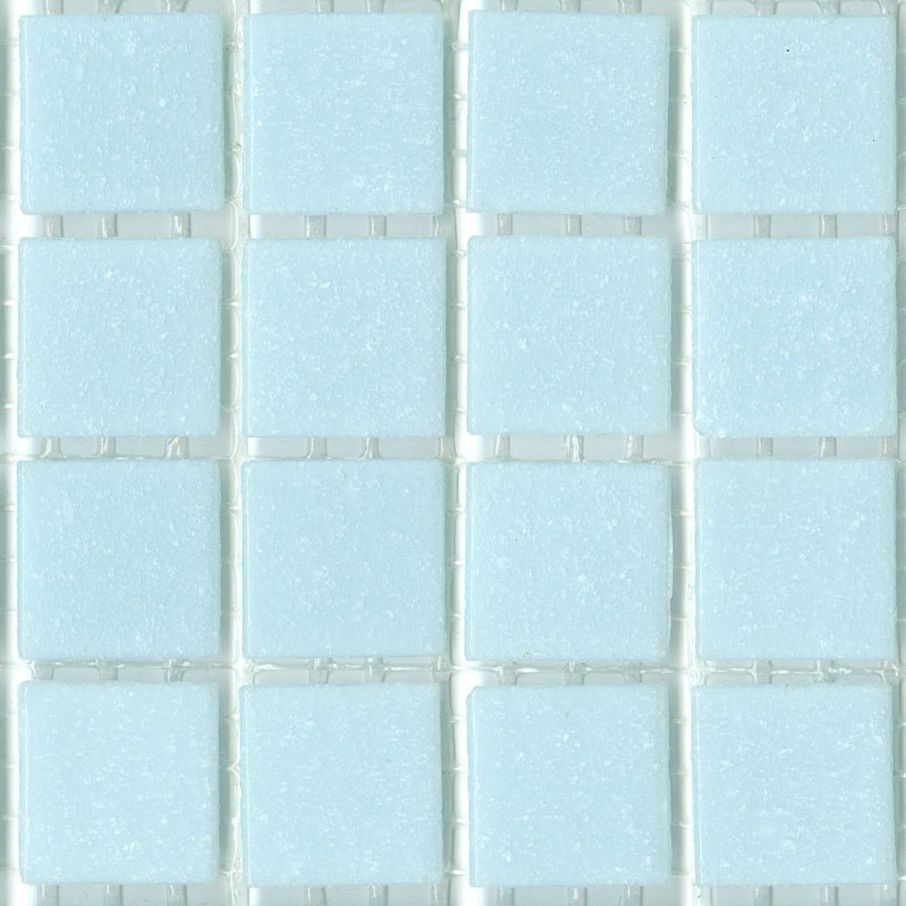 Bright Light Blue Glass Mosaic Tile Dreamy Brio | Modwalls Designer Modern Tile
