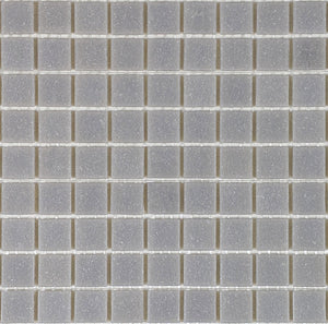 Brio Glass Mosaic Tile |  Flannel