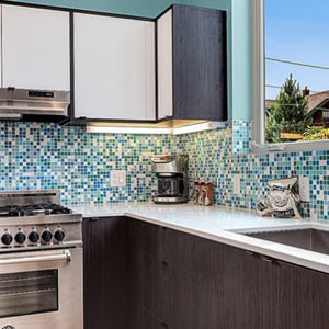 Brio Glass Mosaic Tile |  Fresh Blend