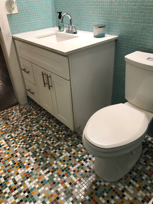 Brio Glass Mosaic Tile | Dreamy