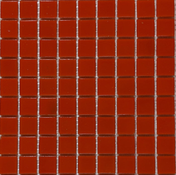 Brio Glass Mosaic Tile | Orange