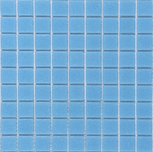 Modwalls Brio Glass Mosaic Tile | Robin's Egg | Modern tile for backsplashes, kitchens, bathrooms, showers, pools, outdoor and floors