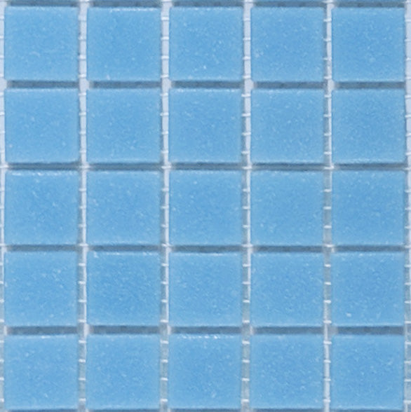 Sample of Brio Glass Mosaic Tile | Robin's Egg