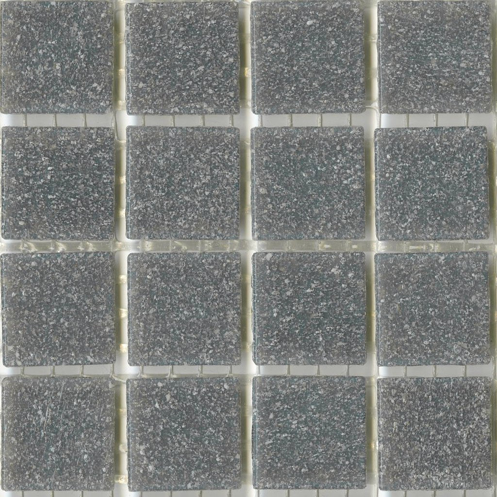 Mosaic Glass Tile Dark Grey Sleet Brio | Modwalls Designer Tile