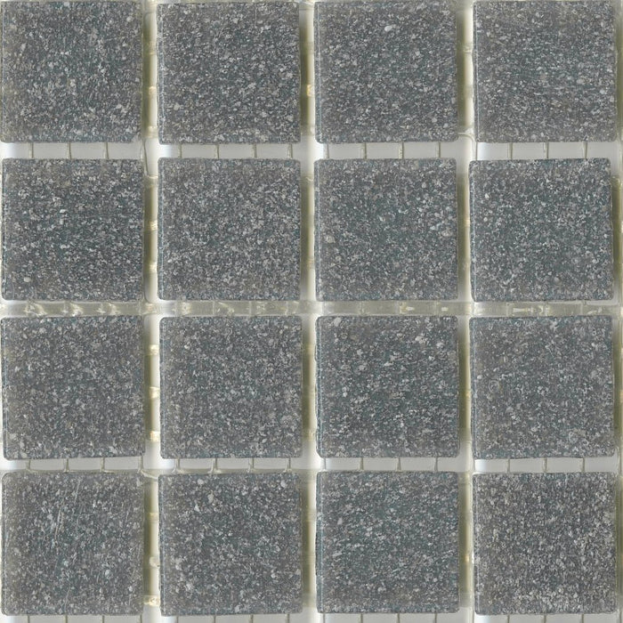 Sample of Brio Glass Mosaic Tile | Sleet