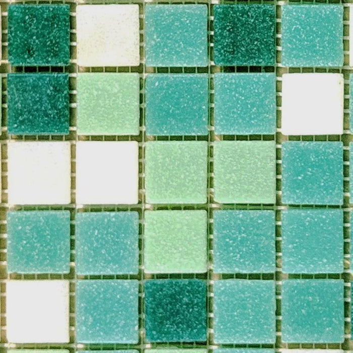Sample of Brio Glass Mosaic Tile | Sunnydale Blend