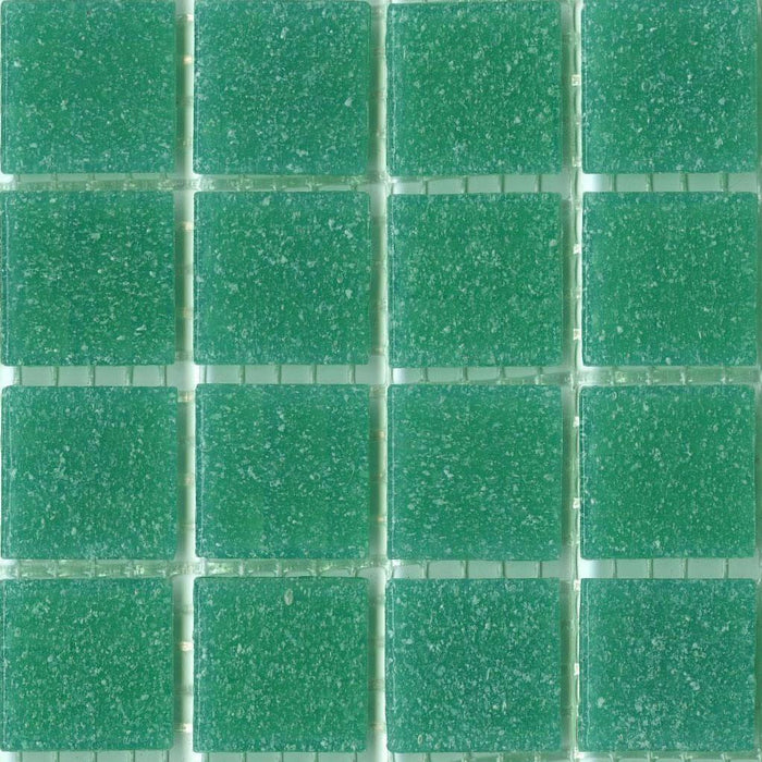 Sample of Brio Glass Mosaic Tile | Tropic