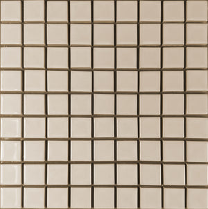 Modwalls Clayhaus Ceramic Mosaic Square Stacked 1 1/4x1 1/4 Tile | 103 Colors