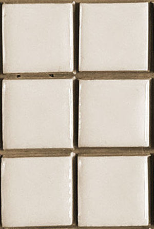 Sample of Clayhaus Mosaic 1 1/4 x1 1/4Stacked Ceramic Tile