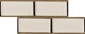 Sample of Clayhaus Mosaic 1x2 Offset Ceramic Tile