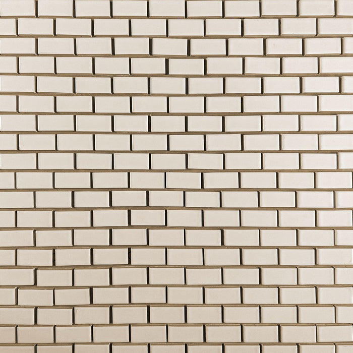 Clayhaus Ceramic Mosaic 1X2 Offset Tile | 103 Colors