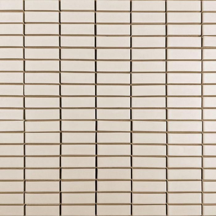 Clayhaus Ceramic Mosaic 1X3 Stacked Tile | 103 Colors
