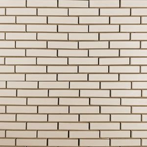 Modwalls Clayhaus Ceramic Mosaic 1x4 Offset Tile | 103 Colors | Modern tile for backsplashes, kitchens, bathrooms and showers
