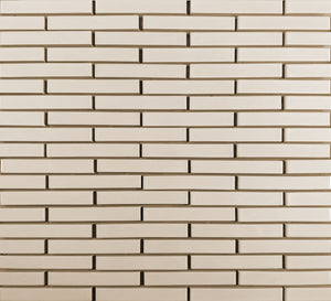Modwalls Clayhaus Ceramic Mosaic 1x6 Offset Tile | 103 Colors | Modern tile for backsplashes, kitchens, bathrooms and showers