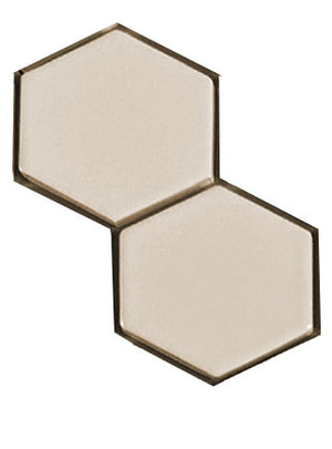 "Sample of Clayhaus Mosaic Hexagon 2 1/2"" Ceramic Tile"