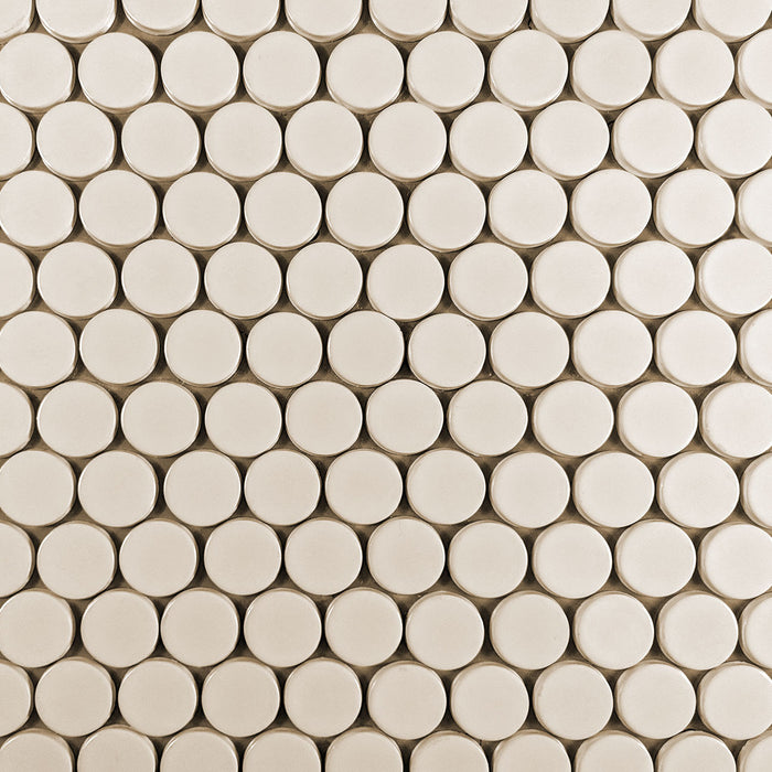 Clayhaus Ceramic Mosaic Circle Offset Tile | 103 Colors