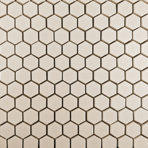 "Modwalls Clayhaus Ceramic Mosaic 2"" Hexagon Tile 