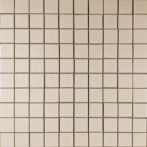 Modwalls Clayhaus Ceramic Mosaic Square Stacked 2x2 Tile | 103 Colors