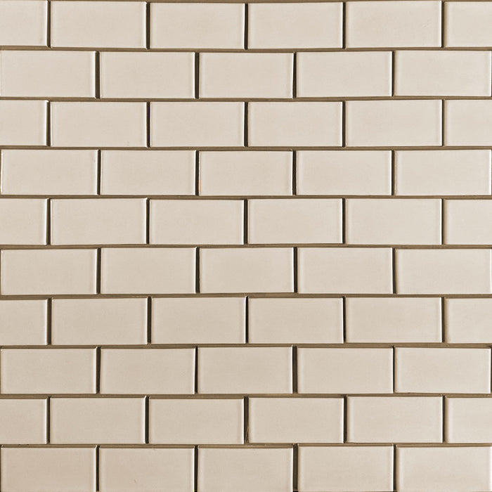 Clayhaus Ceramic Mosaic 2X4 Offset Tile | 103 Colors