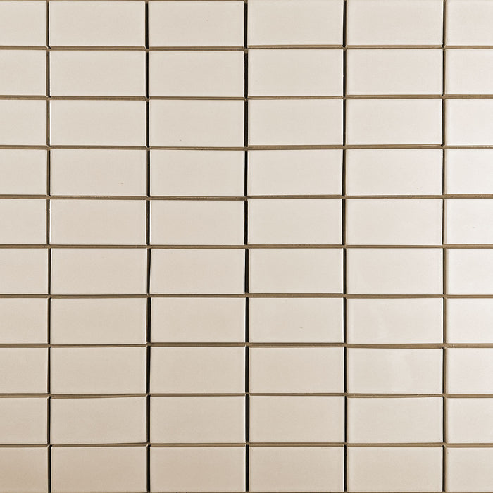 Clayhaus Ceramic Mosaic 2X4 Stacked Tile | 103 Colors