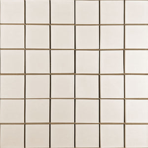 Modwalls Clayhaus Ceramic Mosaic 3x3 Stacked Tile | 103 Colors | Modern tile for backsplashes, kitchens, bathrooms and showers