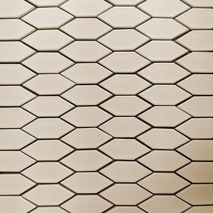 Clayhaus Ceramic Mosaic Crystal Hex Pattern A Tile | 105+ Colors