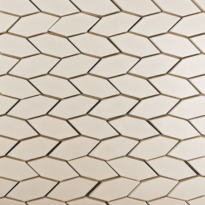 Clayhaus Ceramic Mosaic Crystal Hex Pattern B Tile | 105+ Colors