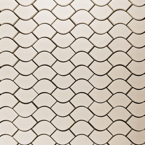 Modwalls Clayhaus Ceramic Mosaic Flow Tile | 103 Colors | Modern tile for backsplashes, kitchens, bathrooms and showers