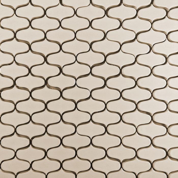 Clayhaus Ceramic Mosaic Ogee Tile | 105+ Colors