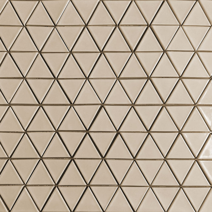 Clayhaus Ceramic Mosaic Triangle Tile | 103 Colors