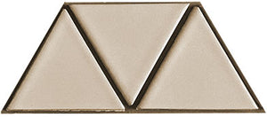 Sample of Clayhaus Mosaic Triangle Ceramic Tile