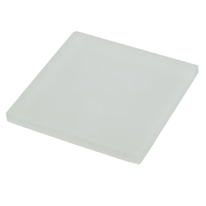 Sample of Oasis Coconut Square Glass Tile | Oasis Glass Tile