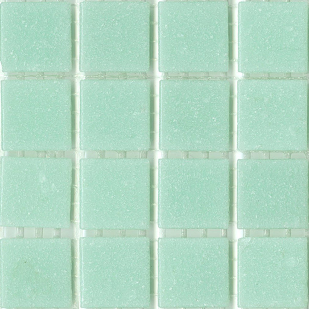 "Brio Cool Breeze Glass Mosaic Tile 3/4"" Blue Tile Sample"