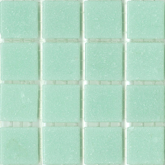 Sample of Brio Glass Mosaic Tile | Cool Breeze