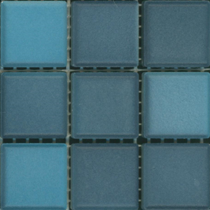 Sample of Mediterranean Mosaic Tile | Corfu Blend Matte