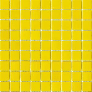Modwalls Brio Glass Mosaic Tile |  Daffodil | Modern tile for backsplashes, kitchens, bathrooms, showers, pools, outdoor and floors