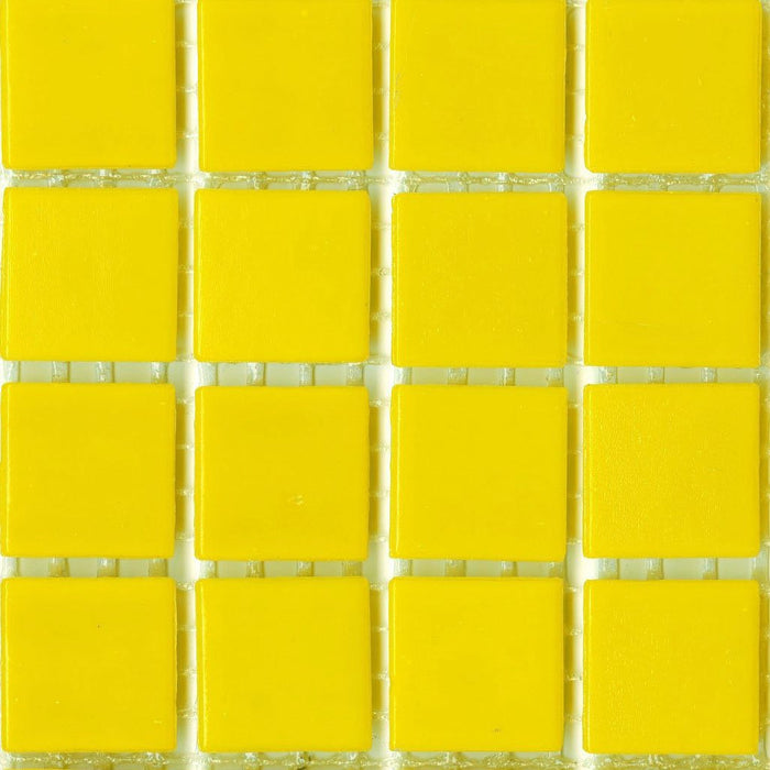 Sample of Brio Glass Mosaic Tile | Daffodil