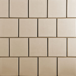 Kiln Ceramic 4 1/4 x 4 1/4 Tile | 103 Colors | Modern tile for backsplashes, kitchens, bathrooms and showers