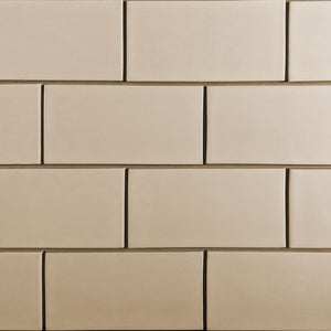 Modwalls Kiln Ceramic 4x8 Tile | 103 Colors | Modern tile for backsplashes, kitchens, bathrooms and showers