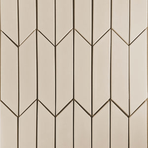 Modwalls Kiln Ceramic Chevron Tile | 103 Colors | Modern tile for backsplashes, kitchens, bathrooms and showers