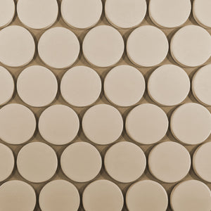 Modwalls Kiln Ceramic Circle Tile | 103 Colors