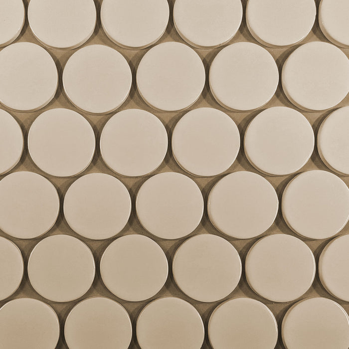 "Kiln Ceramic 3"" Circle Tile 