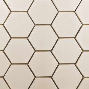 "Modwalls Kiln Ceramic 4"" Hexagon Tile 