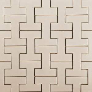 Modwalls Kiln Ceramic I-Beam Tile | 103 Colors | Modern tile for backsplashes, kitchens, bathrooms and showers