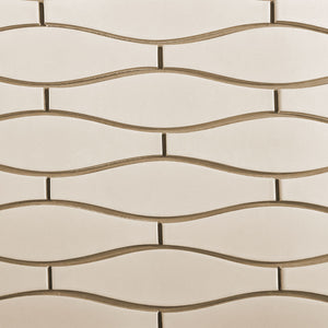 Modwalls Kiln Ceramic Minnow Tile | 103 Colors | Modern tile for backsplashes, kitchens, bathrooms and showers