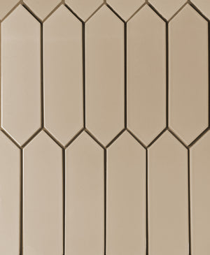 Modwalls Kiln Ceramic Picket Tile | 103 Colors | Modern tile for backsplashes, kitchens, bathrooms and showers