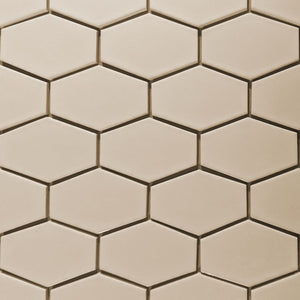 Modwalls Kiln Ceramic Stretch Hex Tile | 103 Colors