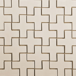Modwalls Kiln Ceramic X-Tile Tile | 103 Colors | Modern tile for backsplashes, kitchens, bathrooms and showers