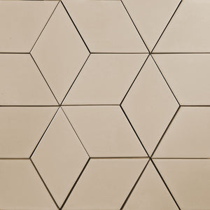 Modwalls Kiln Ceramic Diamond Tile | 103 Colors | Modern tile for backsplashes, kitchens, bathrooms and showers