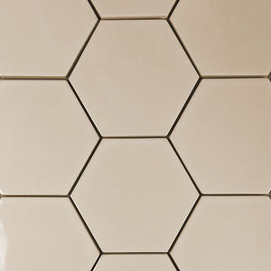 "Modwalls Kiln Ceramic 5"" Hexagon Tile 